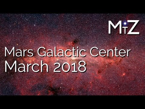 Mars Conjunct Galactic Center March 2018 True Sidereal Astrology