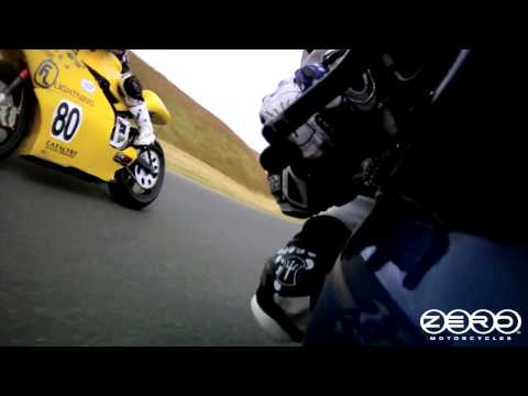 Electric Superbike Race - Zero Motorcycles at TTXGP