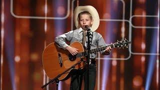 Exclusive: Kid Yodeler Mason Ramsey Sings