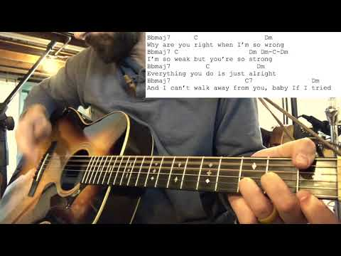 How To Play Fleetwood Mac Oh Daddy Rumours Acoustic Guitar Lesson 10/11