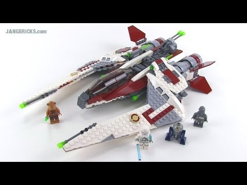 LEGO Star Wars 75051 Jedi Scout Fighter Reviewed!  Summer 2014