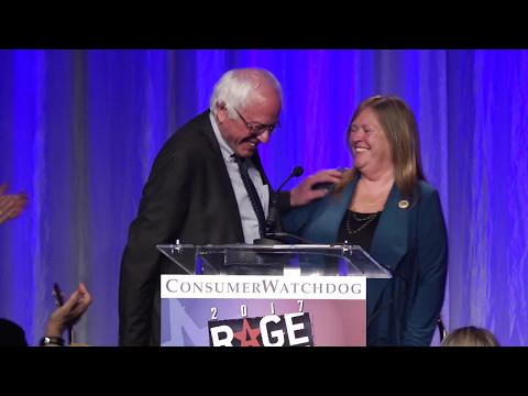 Jane Sanders receives Public Servant of the Year Award, RFJ 2017