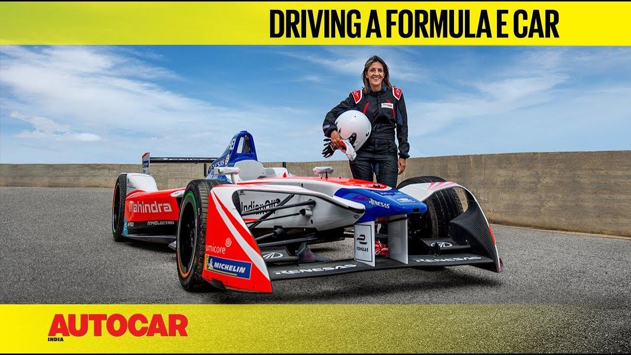 We drive a Formula E race car! | Feature | Autocar India