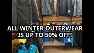 All Winter outerwear is up to 50% OFF!
