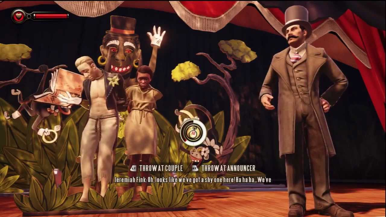 Image result for bioshock infinite raffle scene