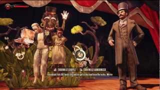 BioShock Infinite - The Raffle/Lottery (Throw at Announcer)