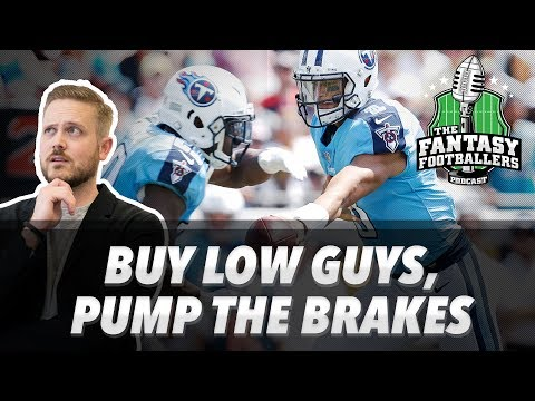 Fantasy Football 2017 - Buy Low Guys, Pump the Brakes, #Footclan Questions - Ep. #440