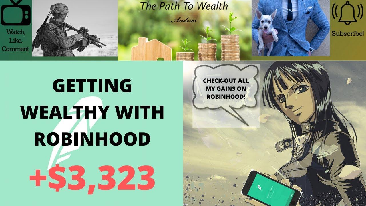Making Money With Robinhood! My $15K Portfolio. - YouTube