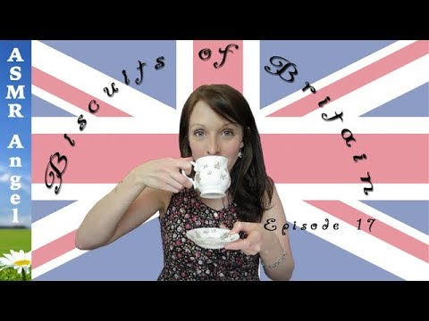 ASMR Biscuits of Britain & Beyond - Tea Drinking & Biscuit T