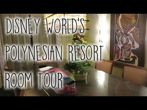 DISNEY'S POLYNESIAN RESORT AMBASSADOR SUITE ROOM TOUR 2015 | LEAHTACKLES