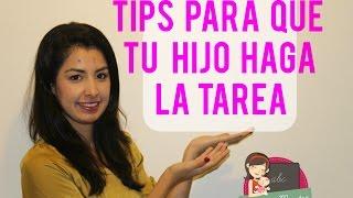 Tips para que tu hijo haga la tarea | Mamá y maestra
