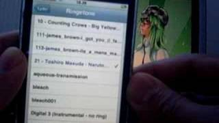 My anime iphone ringtones