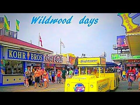 Wildwood days on the boardwalk