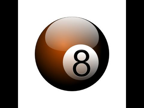 Inkscape Tutorial - Eight Ball