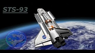 Space Shuttle Mission 2007 - STS 93 Part 1