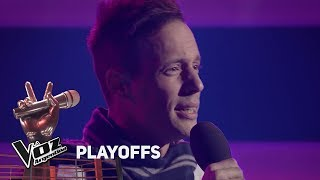 "Playoffs #TeamMontaner - Lucas canta ""A puro dolor"" de Son b..."