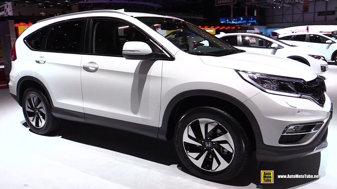 2015 Honda CR V 4WD Lifestyle Diesel Exterior and Interior