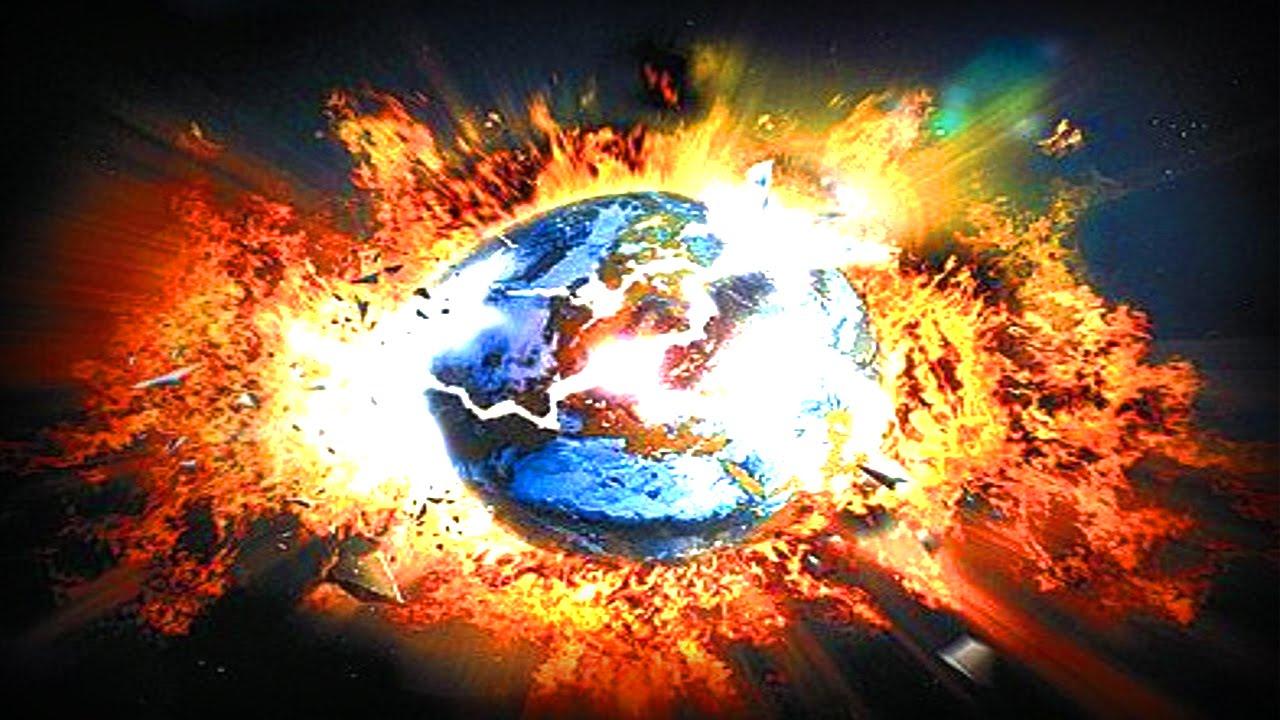 Resultado de imagem para planeta terra a explodir