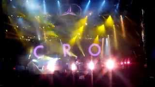 Cro - I Can Feel It - Intro - A Rock Night - Rastatt - 06.09.2014