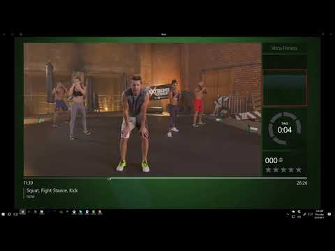 MMA Workout 1 - Extreme Combat for Xbox Fitness - Total Body