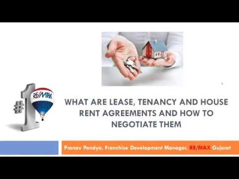 What are Lease, Tenancy and House Rent Agreements and How to Negotiate them