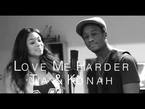 Ariana Grande - Love Me Harder ft Weeknd  Konah & Tia Cover