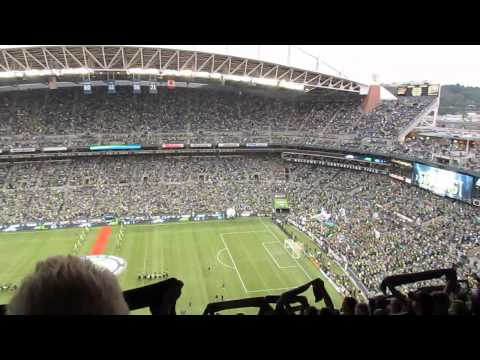 Seattle Sounders vs. Portland Timbers Player Intro and Entrance