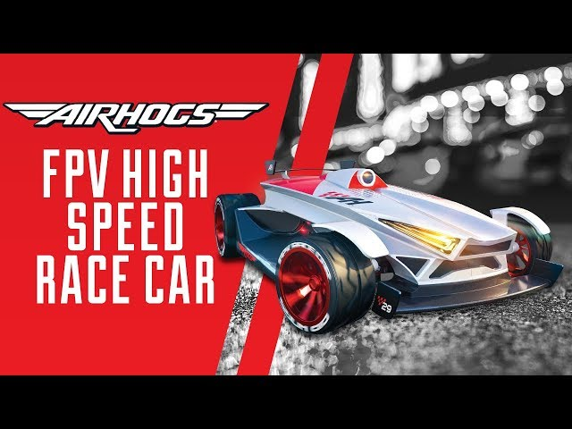 Introducing The NEW Air Hogs FPV High Speed Race Car
