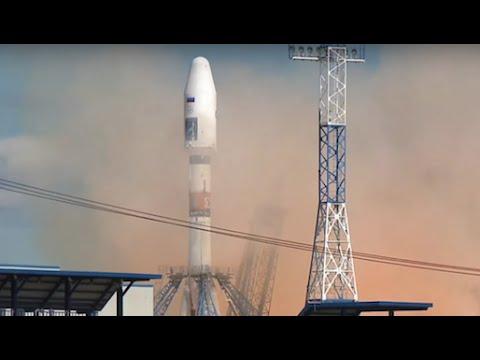 Первый запуск ракеты Союз-2.1а с нового космодрома ВОСТОЧНЫЙ в Амурской области