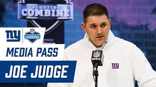 Head Coach Joe Judge Speaks at NFL Combine | New York Giants
