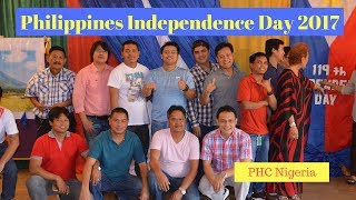 Philippines Independence Day 2017 PHC Nigeria