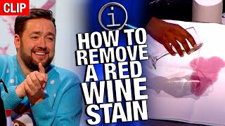 QI | How To Remove A Red Wine Stain