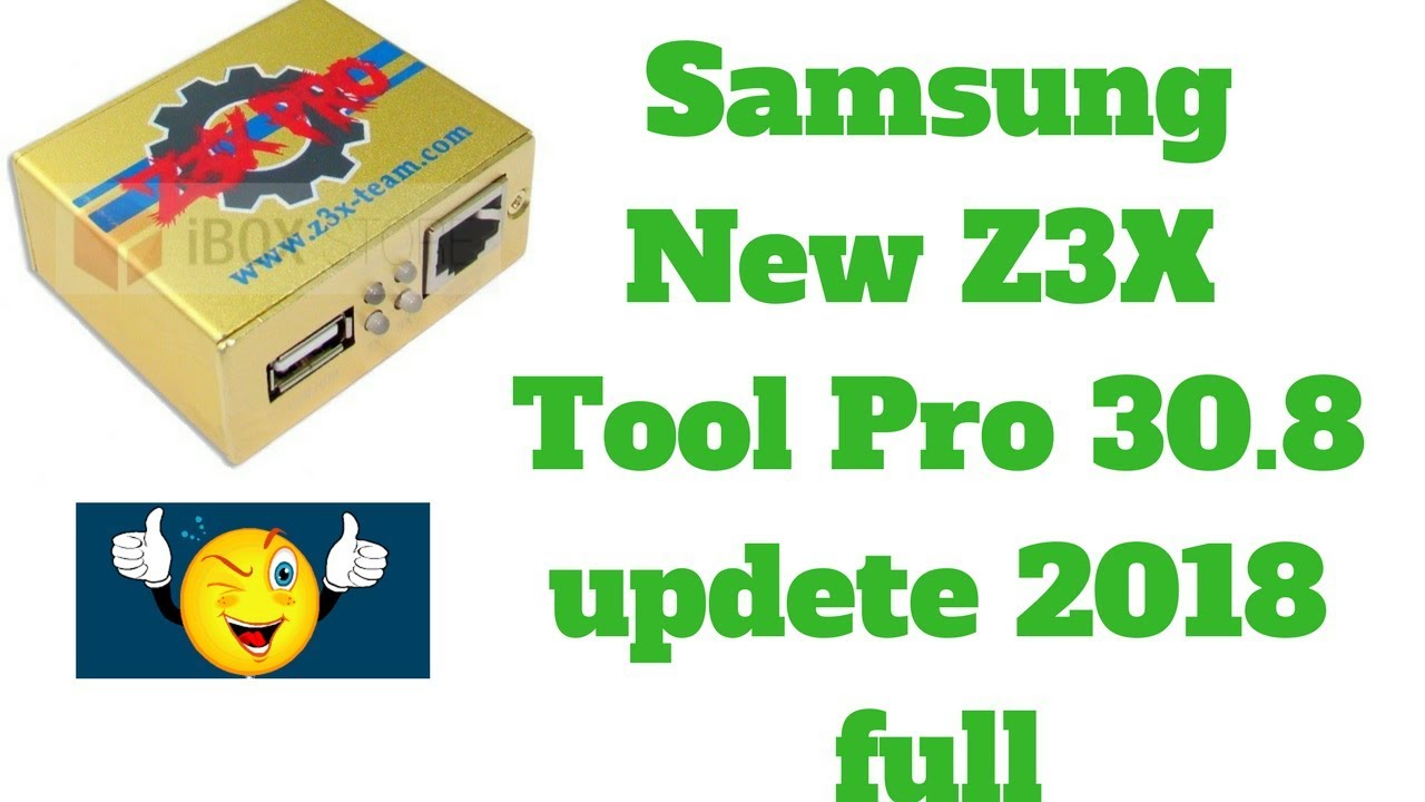 Samsung New Z3X Samsung Tool Pro 30 8 Full     by RJ Solutions