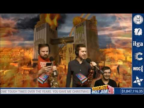 """Yogscast Lewis """"passionately"""" sings: We Didn't Start The Fire"""