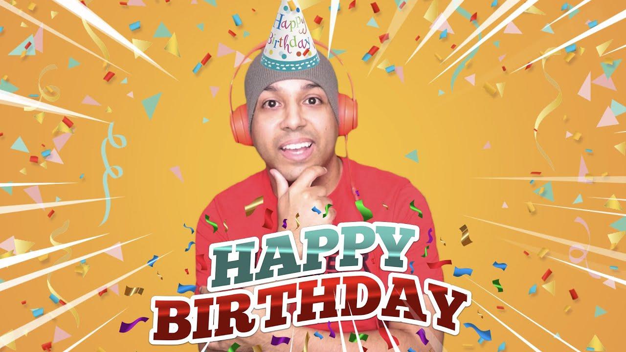 IT'S MY BIRTHDAY!! LET'S CELEBRATE!!