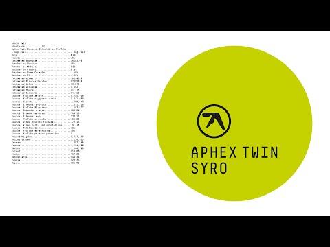 Aphex Twin •'aisatsana [102]'