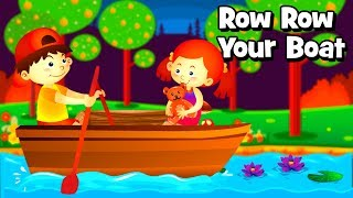 Row Row Your Boat -2 - Nursery Rhymes for Kids & Animated Cartoon for children now in Android app.