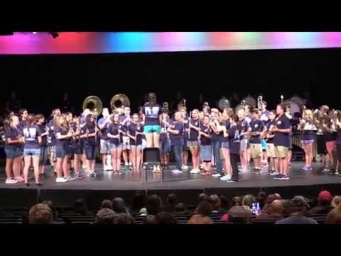 Pride of Pickens Band Exhibition 2014 'Moonscapes'
