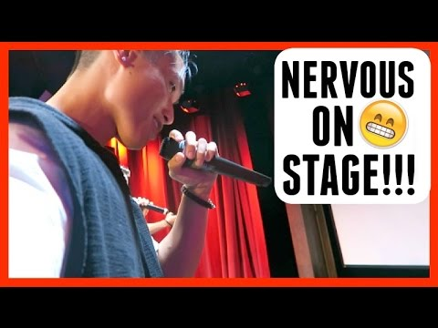 NERVOUS ON STAGE!!! - 동영상