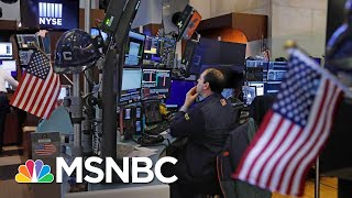 Stocks Plunge At Market Open, Trading Halts After Dow Drops 1800 Points | Velshi & Ruhle | MSNBC