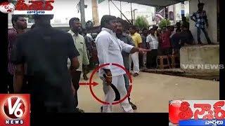High Tension In Nandyal : Clash Between TDP & YCP Activists | Teenmaar News | V6 News