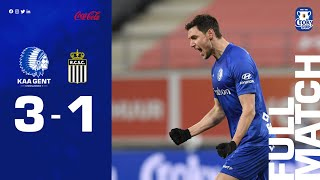 🎬 Full match: KAA Gent - Sporting Charleroi (1/8 finales Croky Cup 2021)