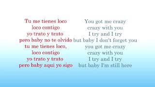 DJ Snake, J  Balvin, Tyga   Loco Contigo (LYRICS spanish-english)