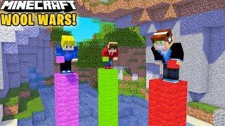 Minecraft Wool Wars #01 - SKYWARS NA WEŁNIE?!