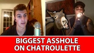 BIGGEST ASSHOLE EVER ON CHAT ROULETTE
