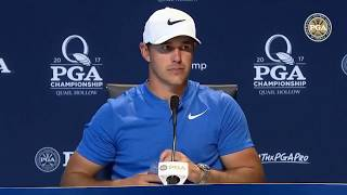 2017 PGA Championship First Round Press Conference: Brooks Koepka