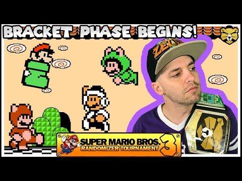 Single Elimination Mario 3 Randomizer Tournament Vs RaikouRider ft. BigJon!