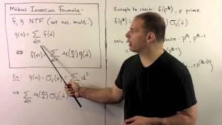 FIT3.2.2.  Mobius Inversion Formula