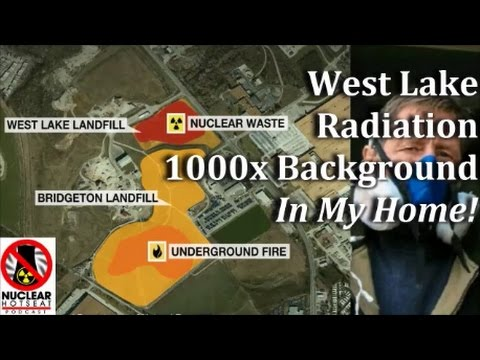 """West Lake Radiation 1000x Background In My Home!"" & Fuku After 7.4 EQ"