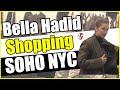 Bella Hadid shopping At Alexander Wang in Soho NYC